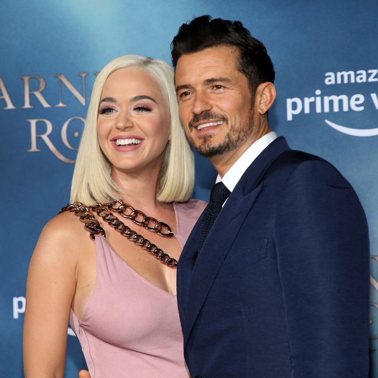 Katy Perry revealed the gender of her baby with a sweet Orlando Bloom photo