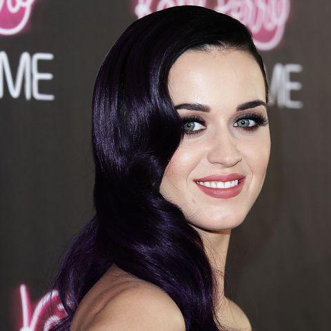 purple hair color ideas   katy perry