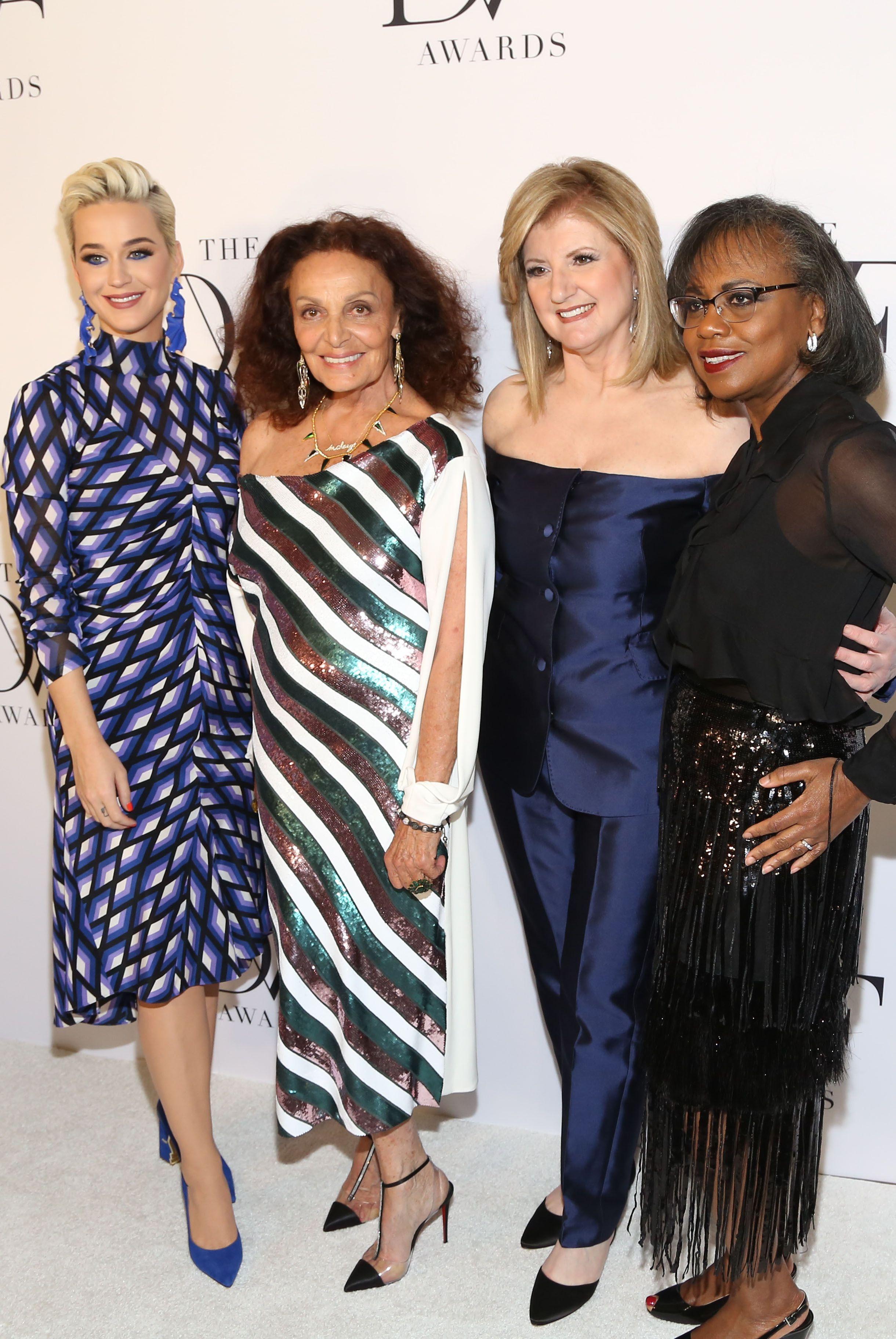 Katy Perry, DVF, Arianna Huffington, and Anita Hill