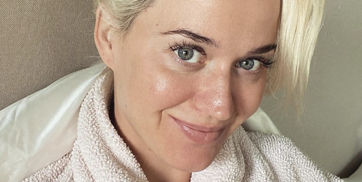 Katy Perry Just Shared a Makeup-Free Selfie and Her Skin Is Seriously Glowing
