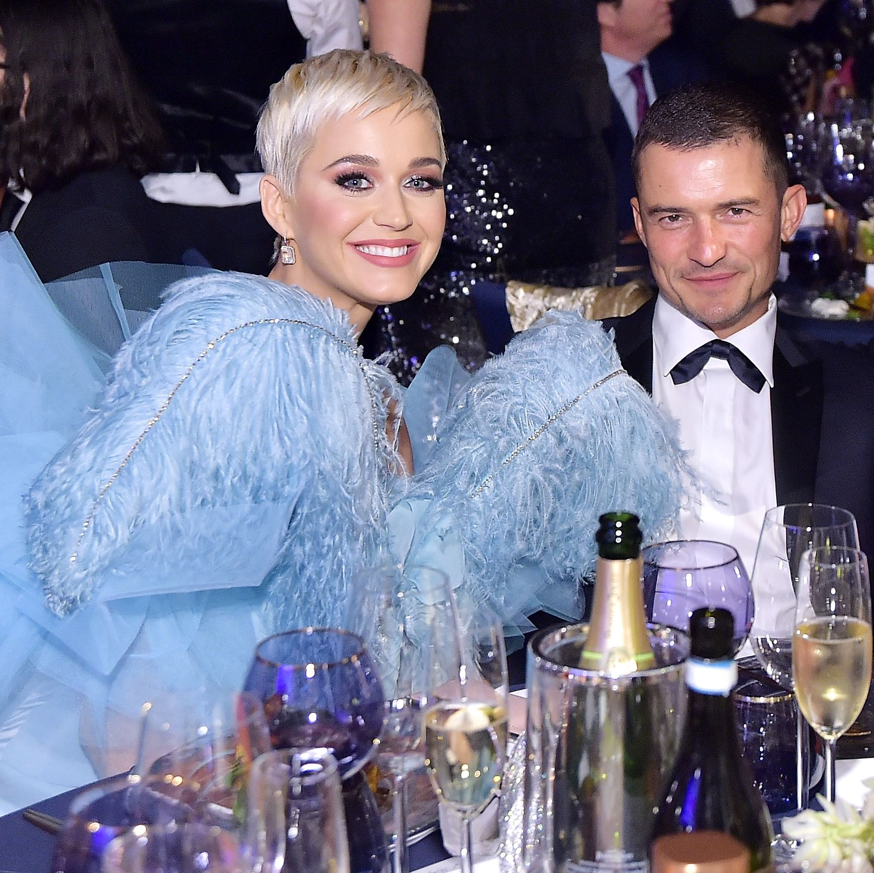 Katy Perry and Orlando Bloom Announce They're Engaged With a Ring Shot