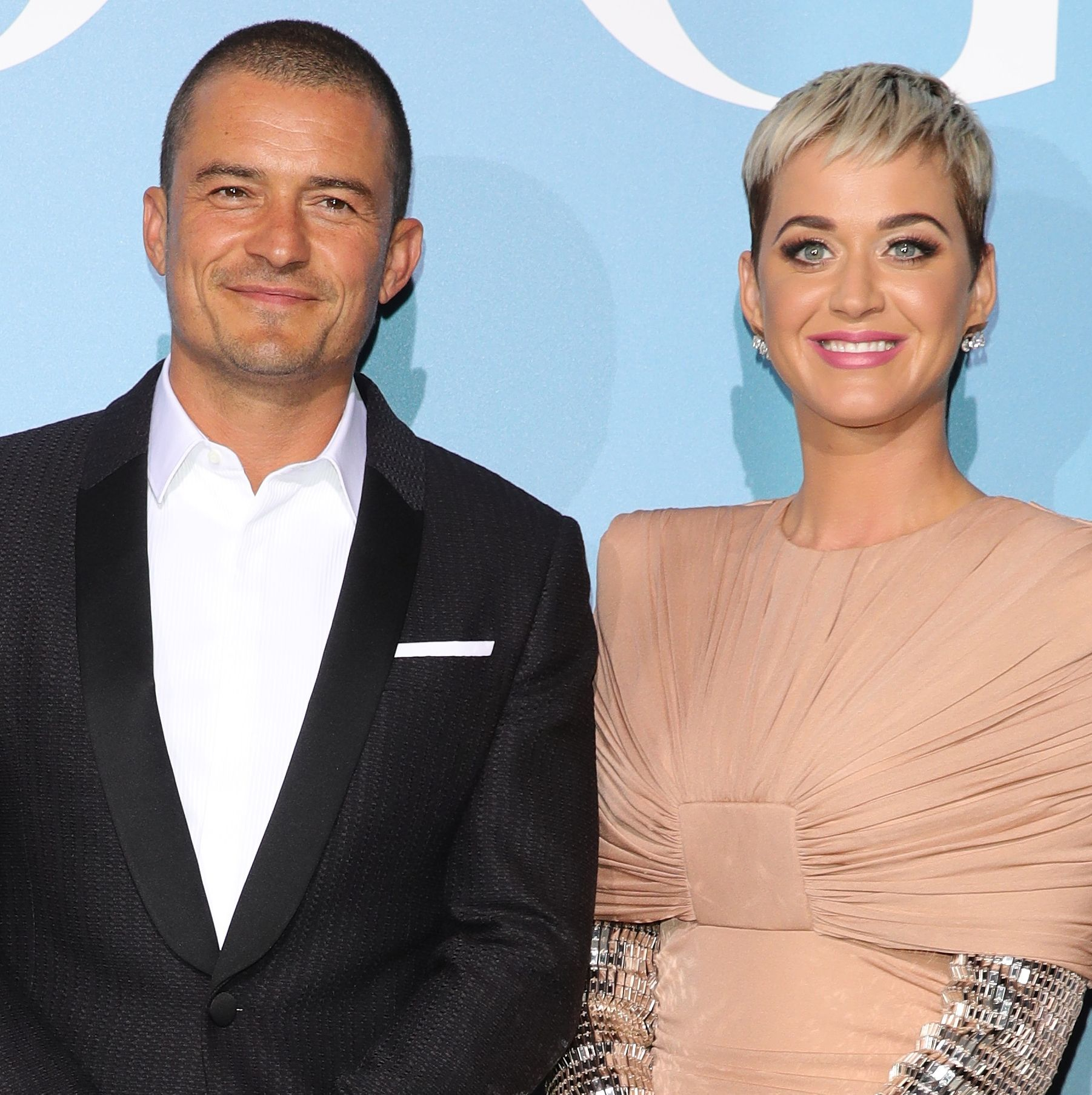 Orlando Bloom and girlfriend Katy Perry