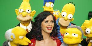 Katy Perry Los Simpson