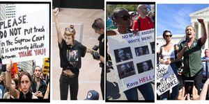 Brett Kavanaugh protests