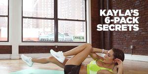 kayla itsines abs workout