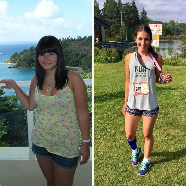 kayleigh robertson running weight loss