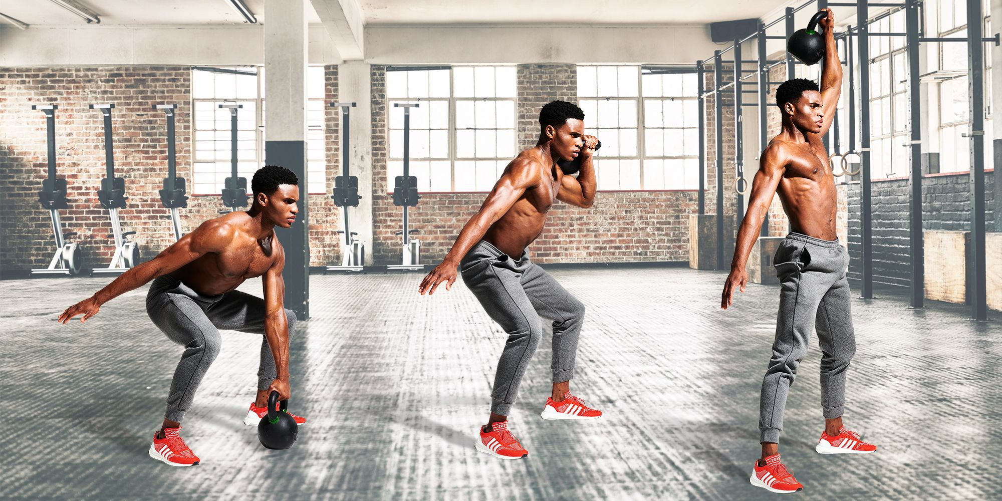 This 15-Minute, 6-Move Home Kettlebell Workout Is Perfect for a Gentle Return To Training