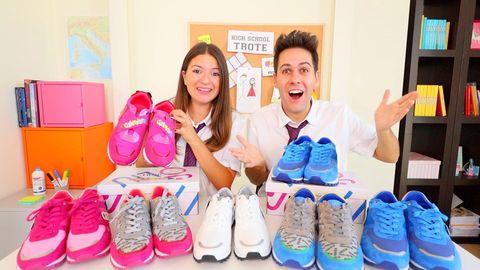 Footwear, Shoe, Athletic shoe, Shoe store, Sneakers,