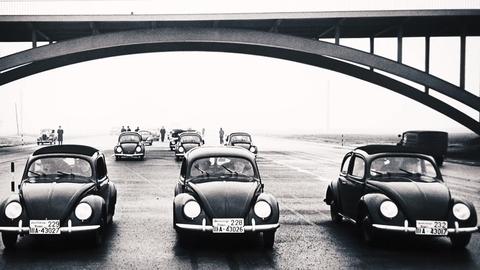 Land vehicle, Vehicle, Car, Classic car, Motor vehicle, Classic, Coupé, Antique car, Mode of transport, Volkswagen beetle,