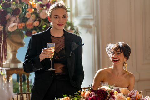 killing eve villanelle season 3 tux