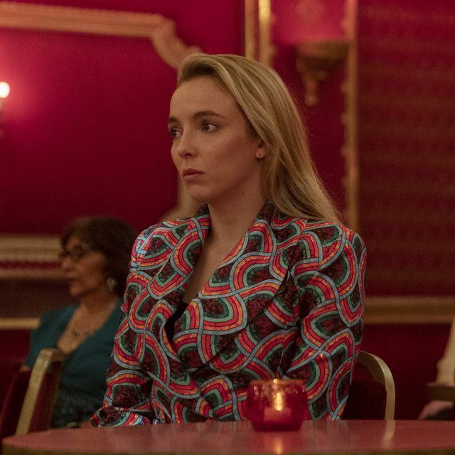 jodie comer as villanelle   killing eve  season 3, episode 8   photo credit laura radfordbbcamericasid gentle