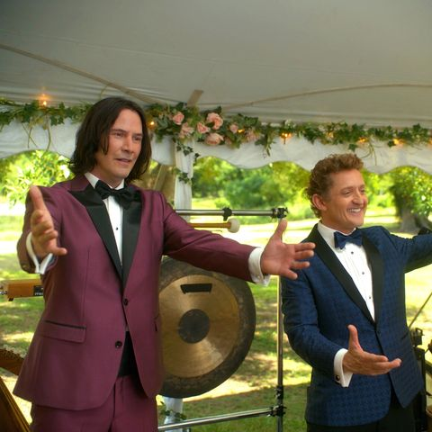 keanu reeves and alex winter, bill and ted face the music