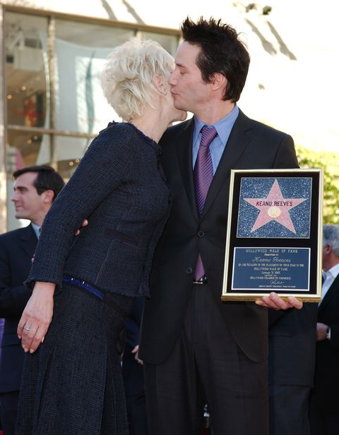 Keanu Reeves Honored With a Star on the Hollywood Walk of Fame