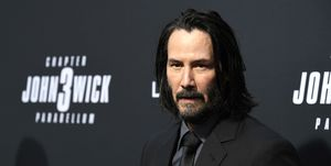 Keanu Reeves, look, rodaje