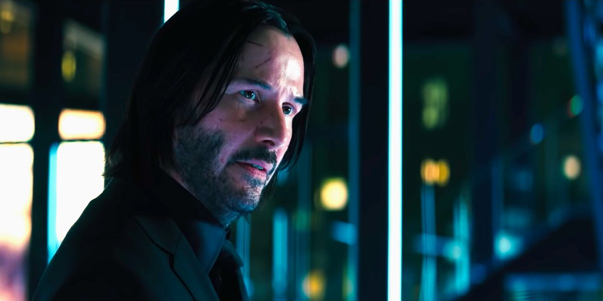 Keanu Reeves in John Wick: Chapter 3 – Parabellum trailer