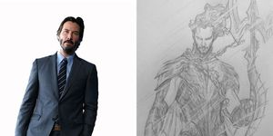 Keanu Reeves Namor Marvel
