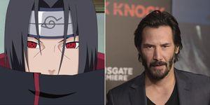 Keanu Reeves Naruto