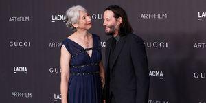 Keanu Reeves en zijn nieuwe vriendin Alexandra Grant bij het LACMA Gala