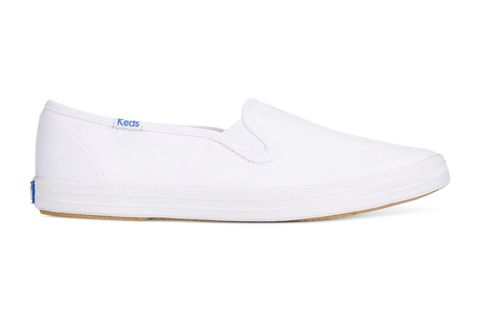 ddce3e301a2b7 My White Keds Champion Slip-On Show Review - Best White Canvas Sneakers