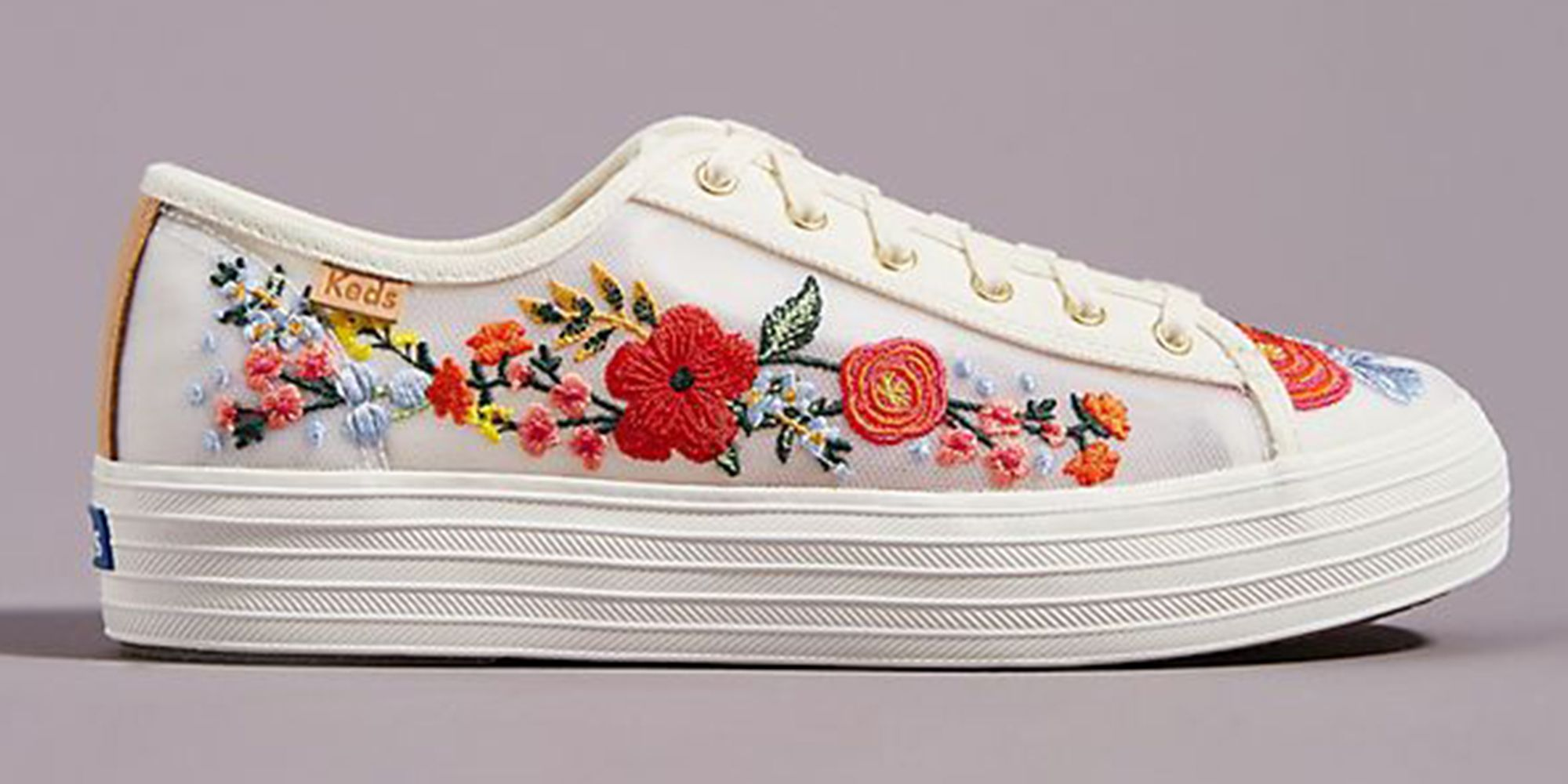 Keds' New White Sneakers Are