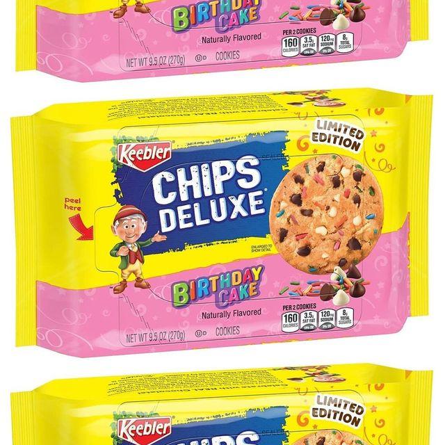 keebler chips deluxe birthday cake cookies