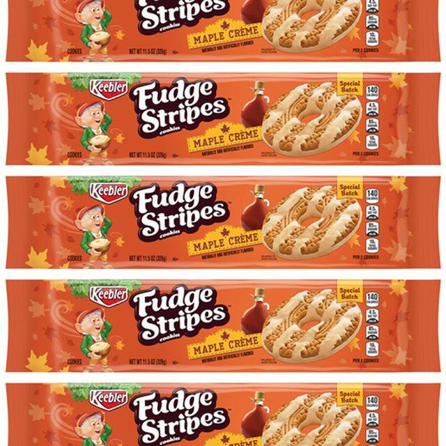 keebler fudge stripes maple creme cookies