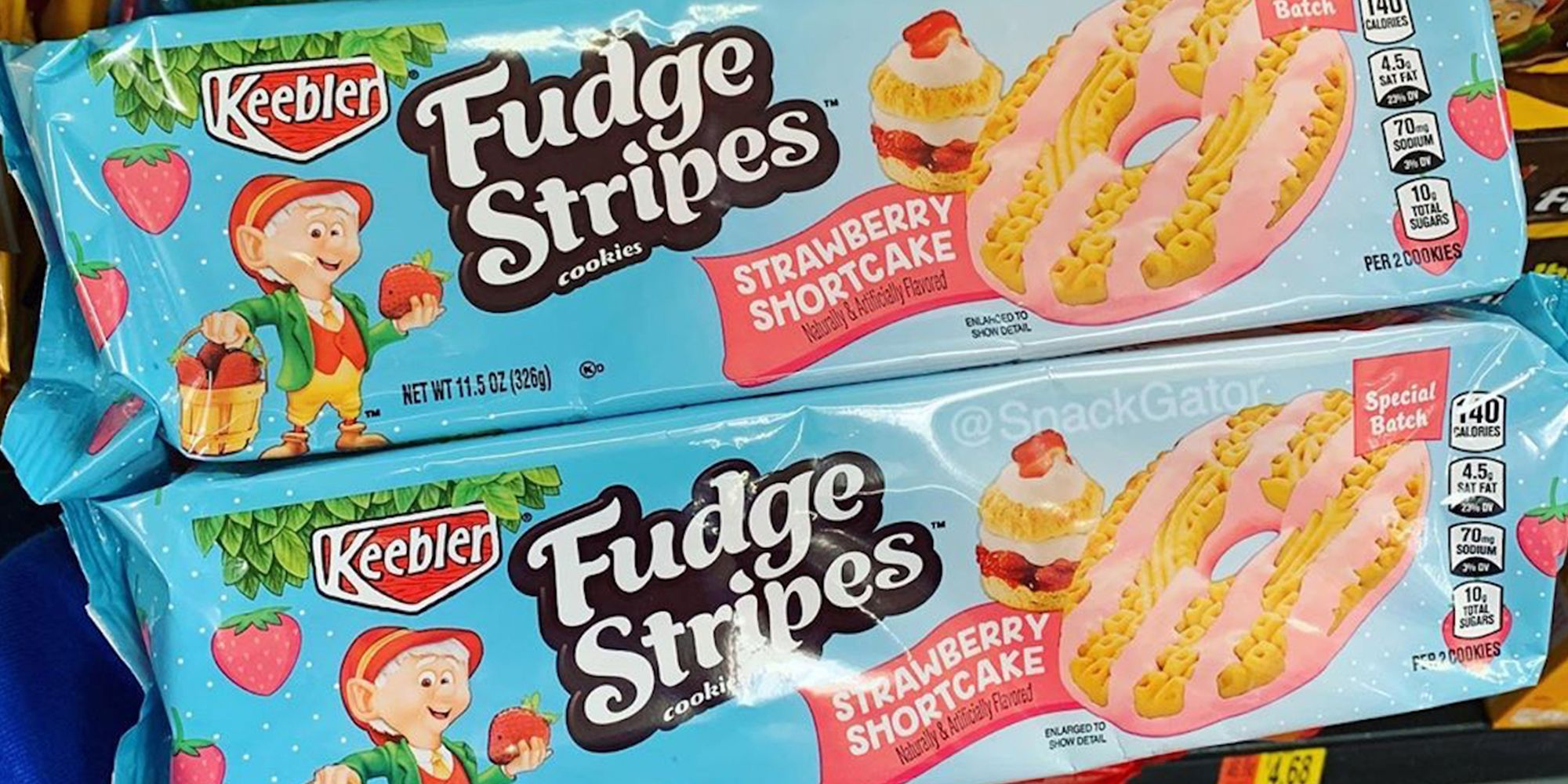 Keebler Just Released Fudge Stripes Strawberry Shortcake Cookies And They're Perfect For Dessert
