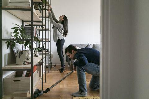 maintenez vos sols étincelants de propreté
