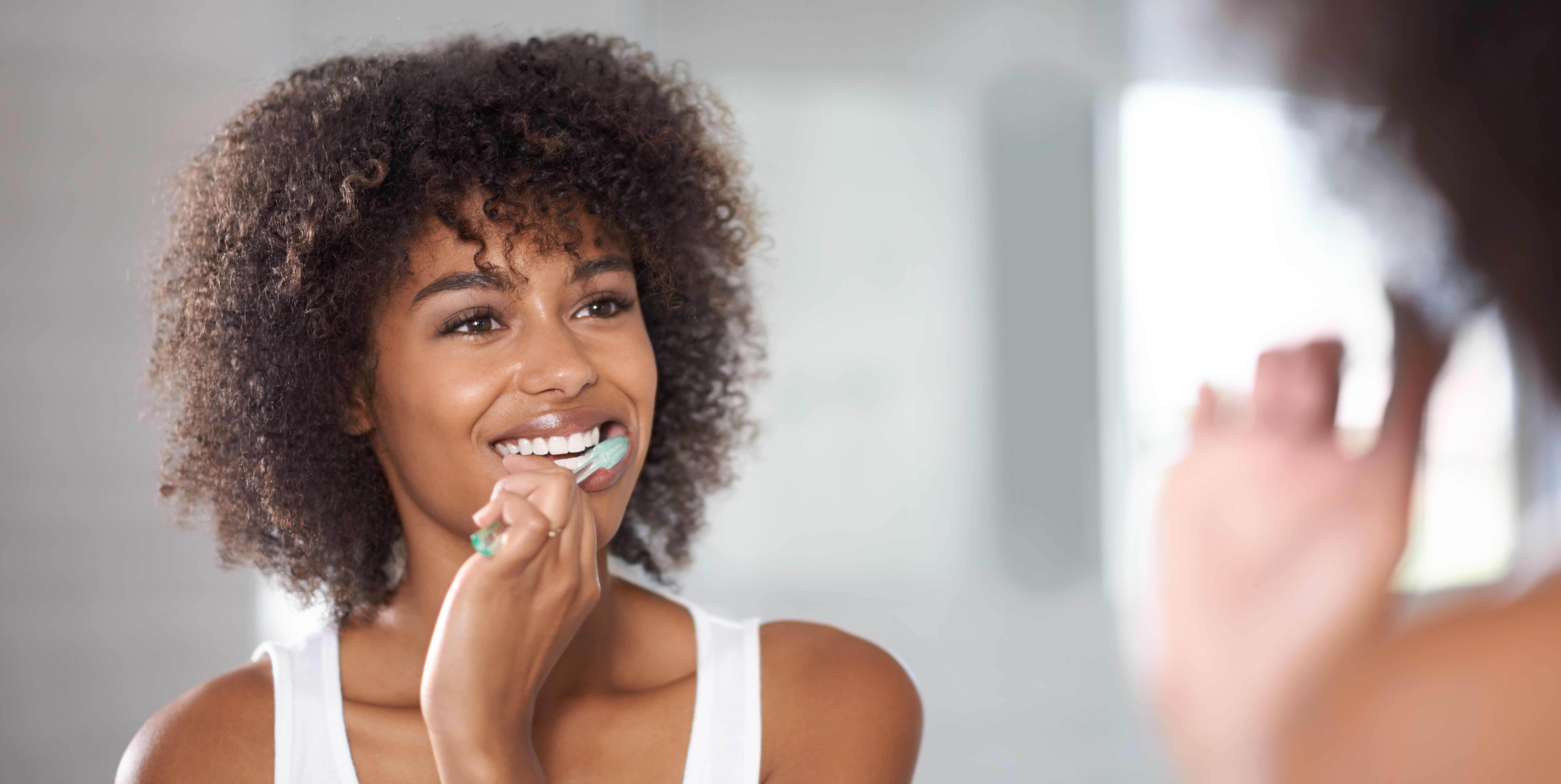 Keeping a pearly white smile