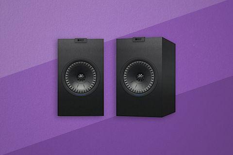 Purple, Loudspeaker, Audio equipment, Violet, Electronics, Technology, Electronic device, Computer speaker, Sound box, Studio monitor,