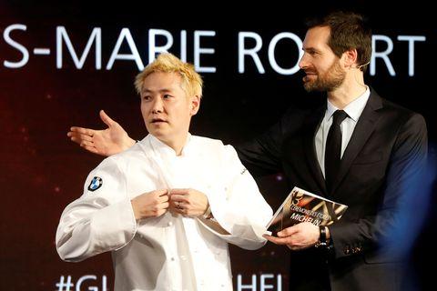小林圭シェフ、三つ星受賞の瞬間