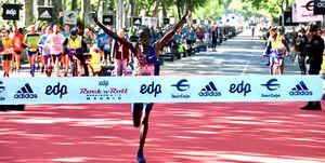 Reuben Kerio bate el récord de la Maratón de Madrid