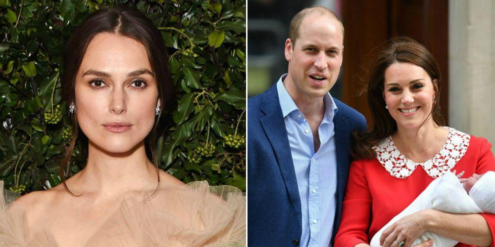 Kate Middleton, Prins William en Keira Knightley