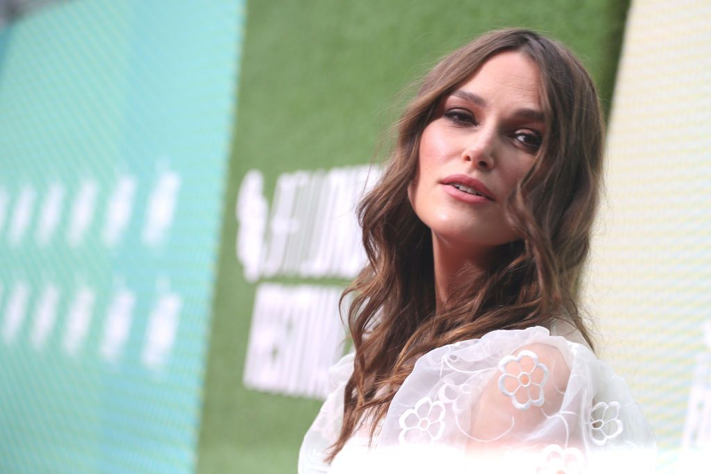 Keira Knightley gets refreshingly honest about having a newborn