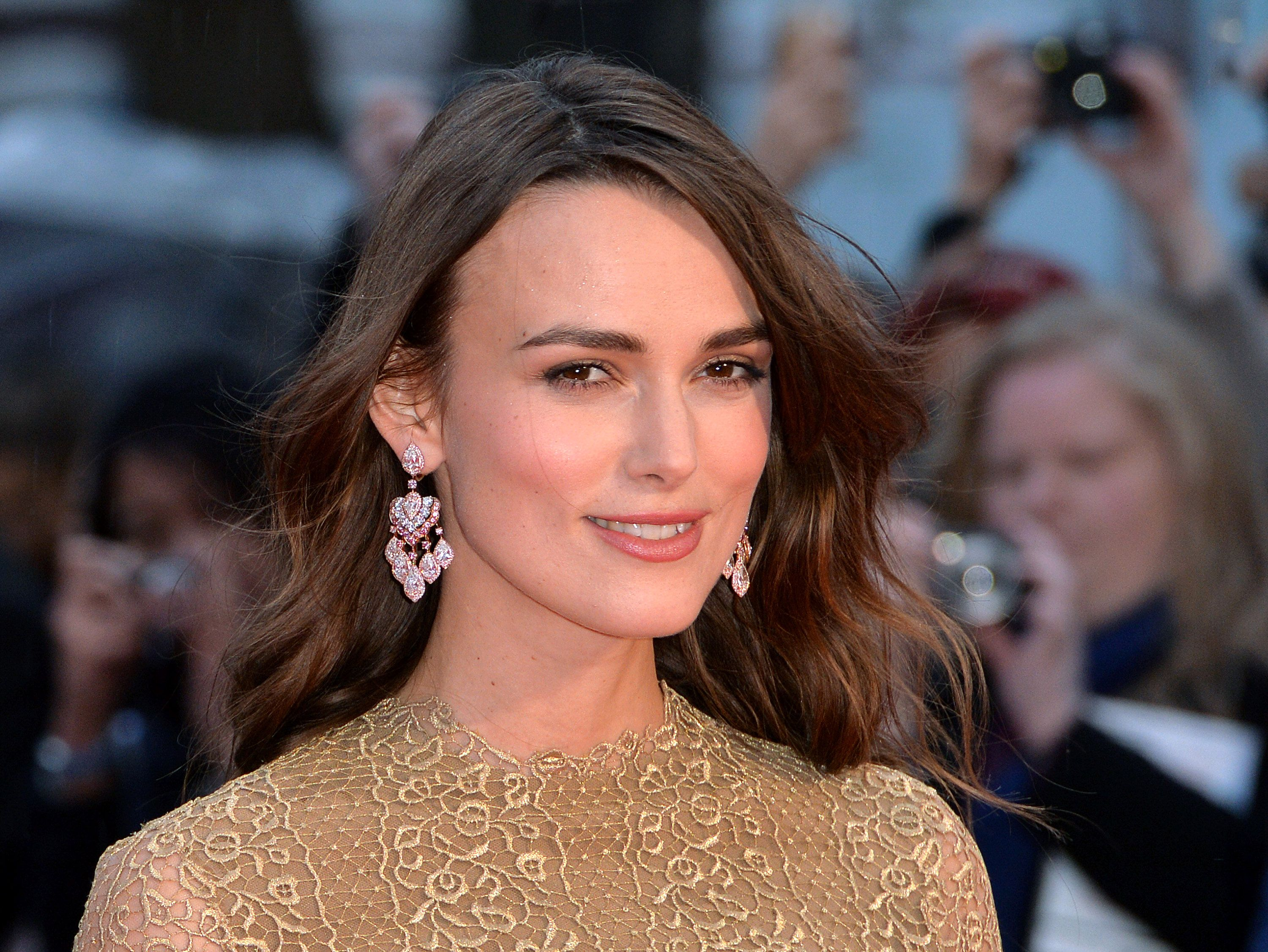 Keira Knightley says she'd play Coleen Rooney in a film