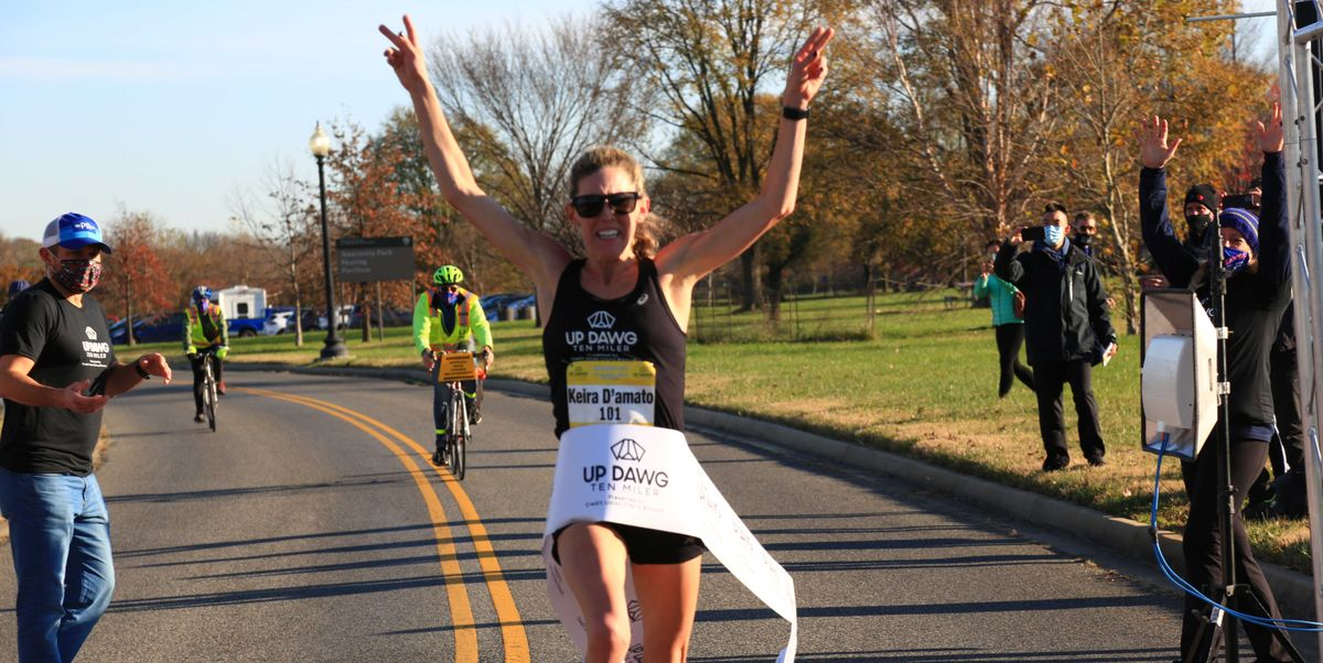 Keira D'Amato Shatters the American 10-Mile Record for a Women's-Only Race