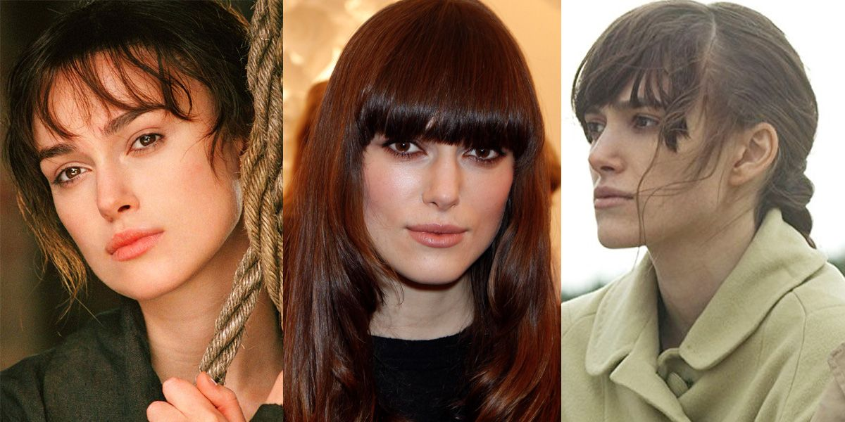 Keira Knightley Bangs