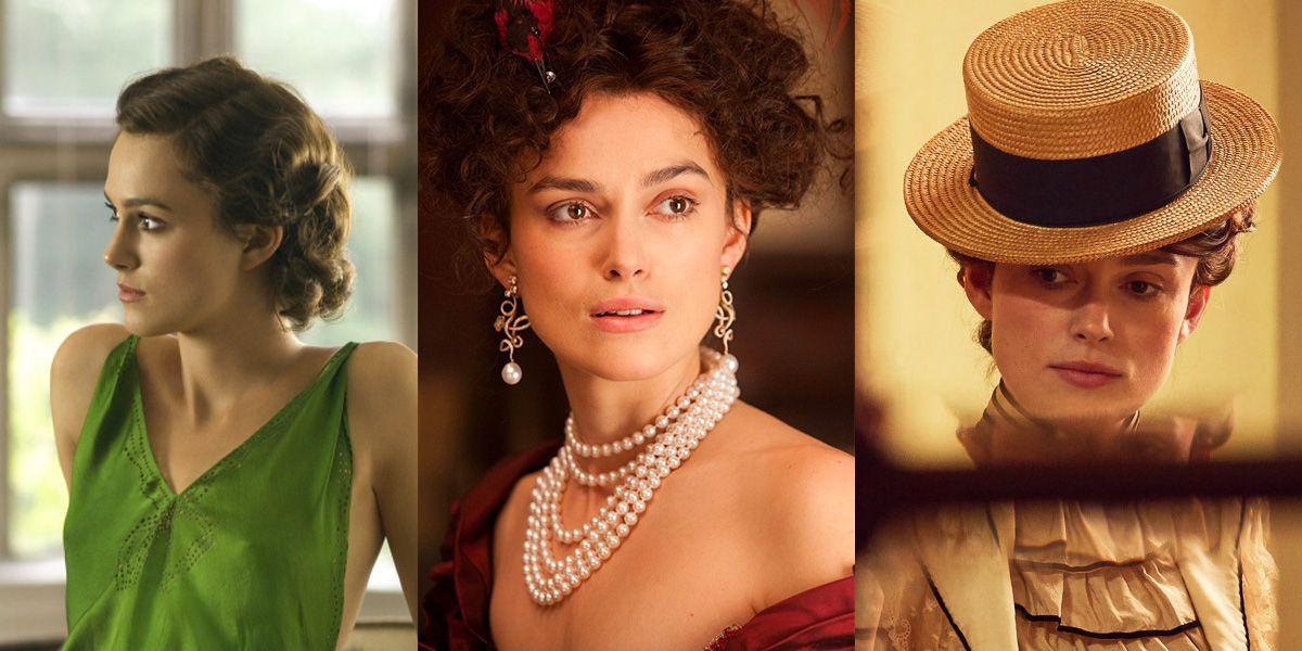 Keira Knightley Movie Roles Beauty Looks