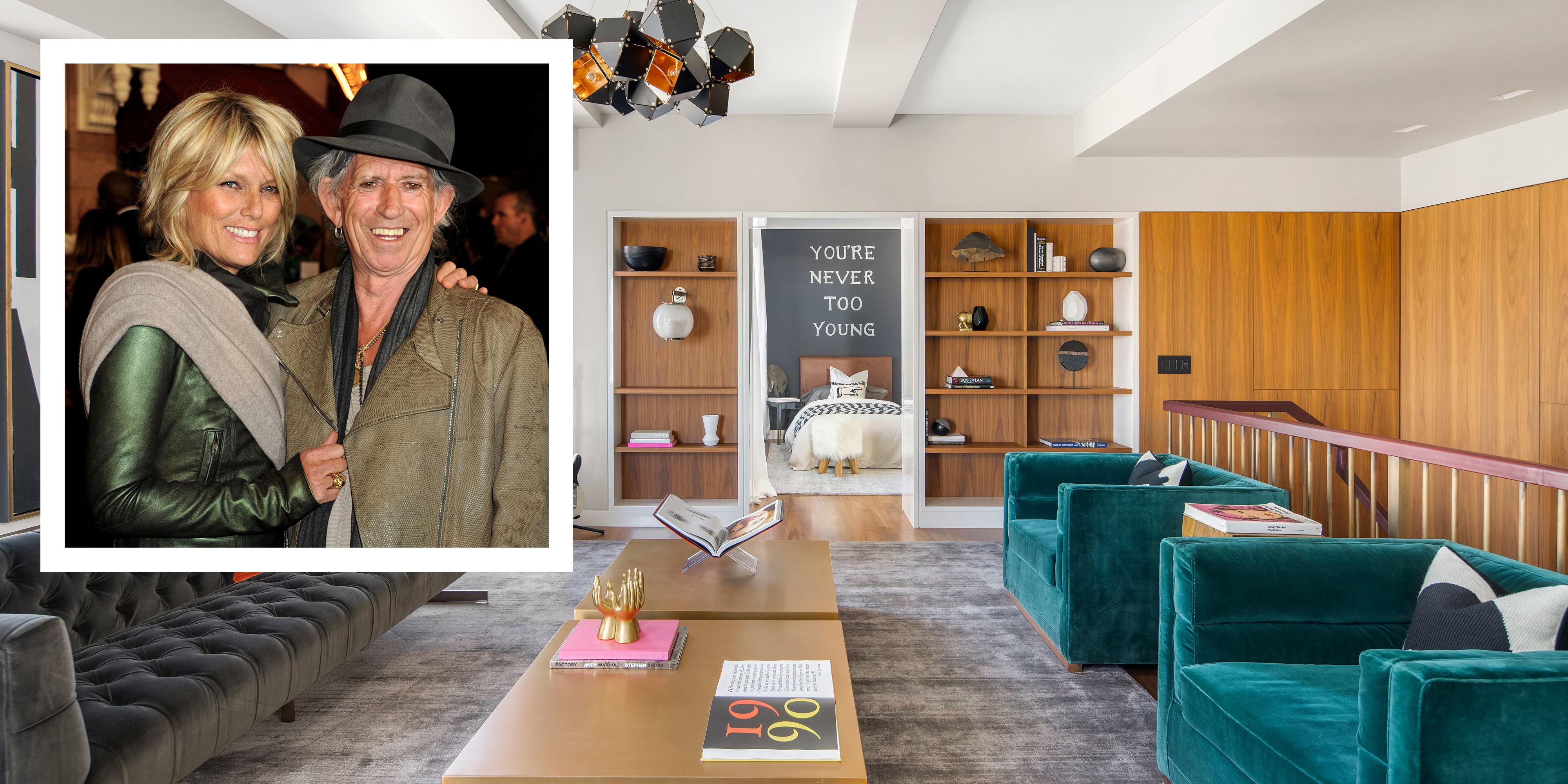 See Inside Keith Richards's New York City Penthouse