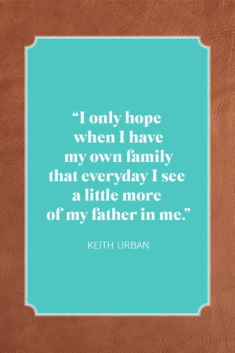 fathers day quotes keith urban