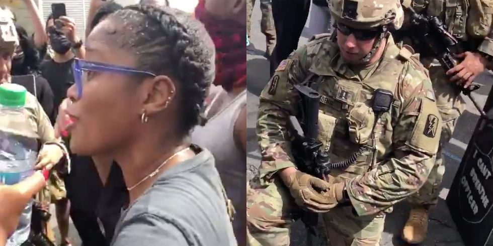 """Keke Palmer Convinced the National Guard to Kneel: """"If We Are Unified, We Can Create Change"""""""