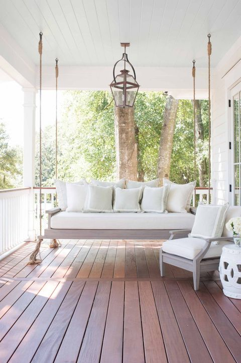 Fantastic 28 Charming Front Porch Ideas Chic Porch Design And Gmtry Best Dining Table And Chair Ideas Images Gmtryco