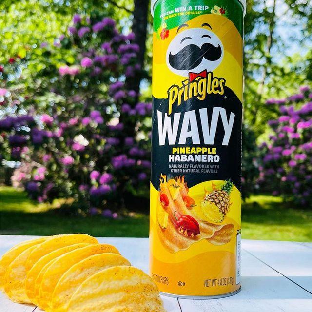 kellogg company pringles wavy pineapple habanero chips