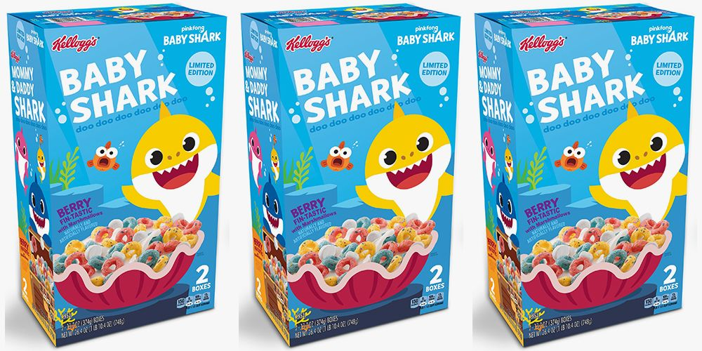 Baby Shark Cereal Is Swimming Into Select Stores And It
