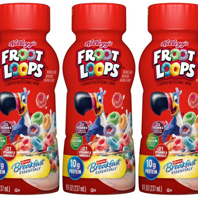 carnation breakfast essentials kellogg's froot loops drink