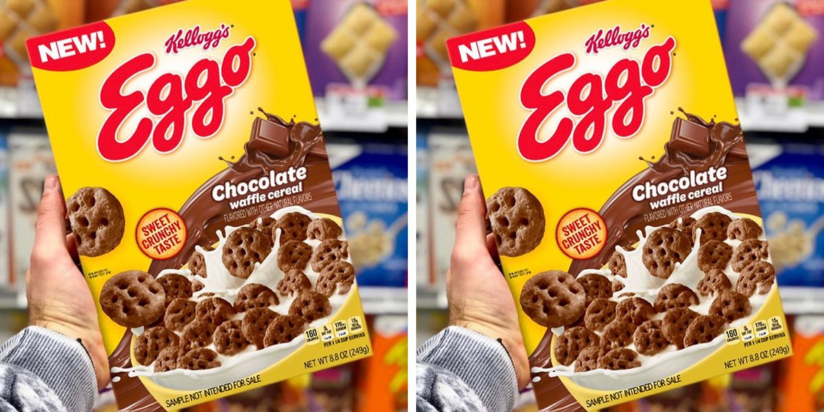 Kellogg's Is Apparently Launching A Chocolate Eggo Cereal To Revamp Breakfast