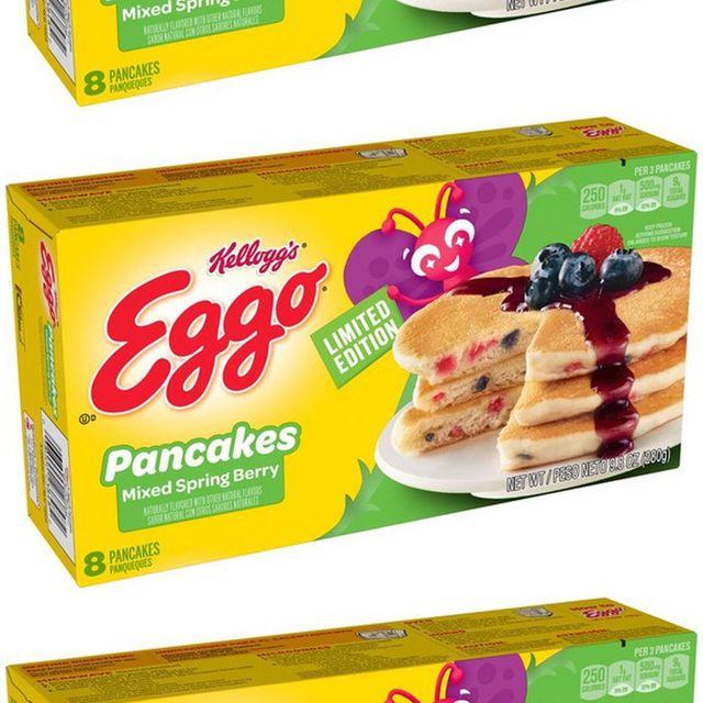 kellogg's eggo mixed spring berry pancakes