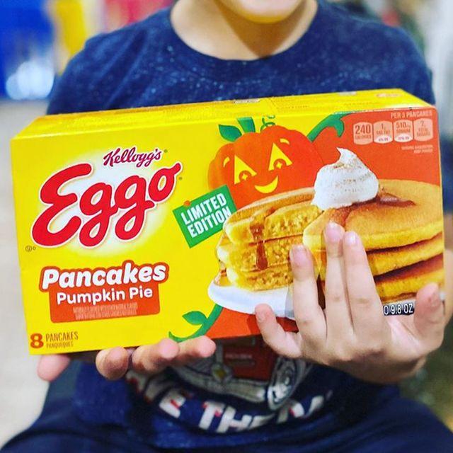 eggo pumpkin pie pancakes