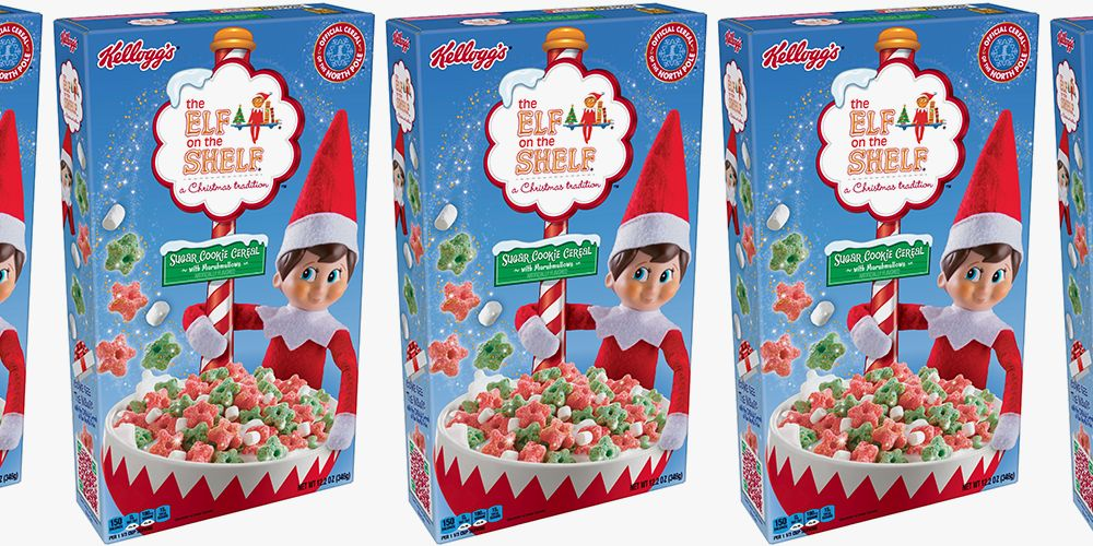 Kellogg's Just Unveiled Elf on the Shelf Cereal That Tastes Like Sugar Cookies