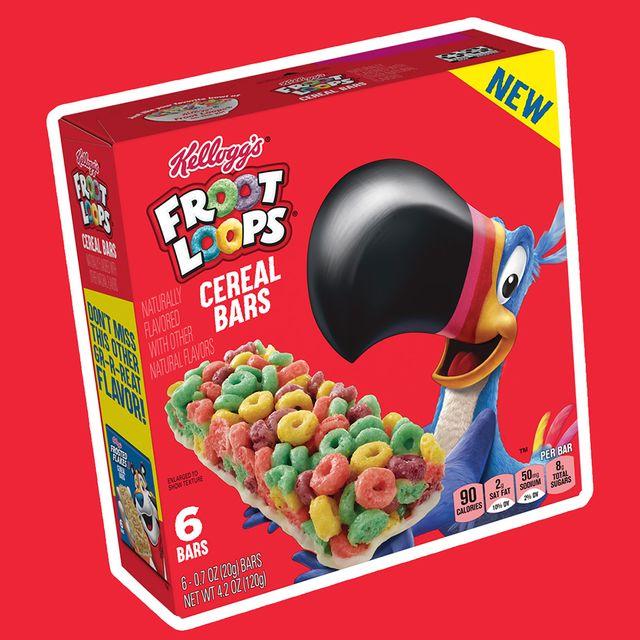 kellogg's froot loops cereal bars